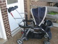 Baby Trend Sit & Stand Double Stroller. Good condition