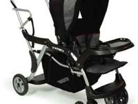 Selling our sit and stand stroller due to our kids