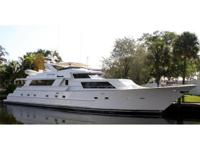 Description This 100' Broward Motoryacht. features 2006