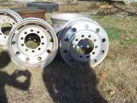 6 24 inch Bud Wheels For Tractor Trailer $150.00 each
