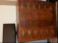 I have a 6 drawer solid wood dresser for sale. The
