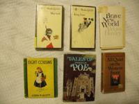 These six books, all fiction, are for sale for a total