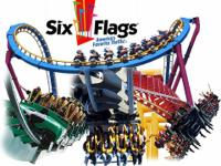 I have $25 single day tickets to Six Flags, they are