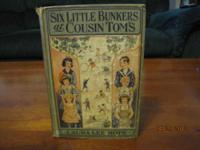 SIX LITTLE BUNKERS AT COUSIN TOM'S BY LAURA LEE HOPE.