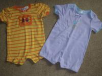 Six cute girls summer outfits - size 18-24 months