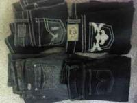 5 pair jeans size 1 except for 1 pair size 0. Includes