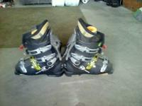 worn 10-15 times stiff & aggressive ski boots size