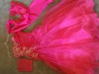 For Sale: I have a fuschia, beaded mermaid style prom