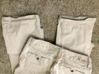 Tan White House black market pants perfect condition