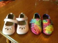 Brand New BOBS- Tie Dye style, Toddler lady Size 5.