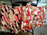 2 VERY CUTE LITTLE SKIRTS SIZE 5 $5 EACH. 4 PAIR OF