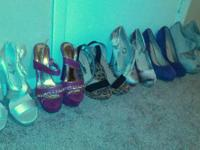 I have a few heels that have never been worn and some