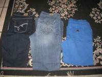 $5.00 each jean or take all 3 for $15.00 Call or text
