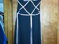 I have a small Teeze Me strappless dress that is black