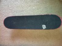 I'm selling my skate mental skateboard because I just