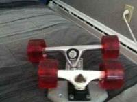 hi im saling this great new skate wheels for $140 O.B.O
