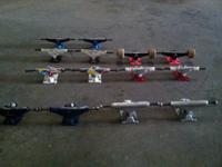 Since I don't skate, I have actually skateboard trucks