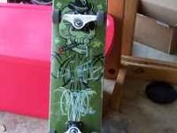 I have three different, professional skateboards that I