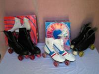 Roller Derby brand name shoe skates. 1 guys's size 10,