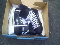 3 sets of skates, size 7.5, 8, and 9.5, all brand-new