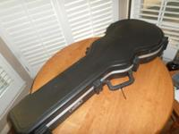 Selling an SKB Locking Hard Guitar Case! This case has