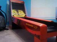 Just in time for Christmas...very nice Rhino skee ball