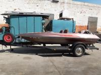 SKEELTER R-90 BOAT WITH TRAILER NOTE: The price for the
