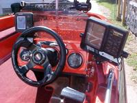 1987 SKEETER BASS BOAT WITH MATCHING TRAILOR MINN KOTA