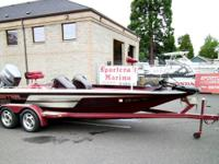 1992-20ft Skeeter 200DX-Bass Boat  Dual Console w/Bench