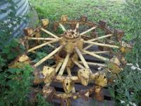 Skeleton Wheels from Model A John Deere Tractor; $450 -
