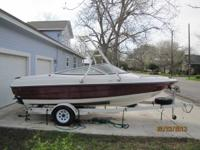 This is a 1993 Wellcraft 182s Eclipse with clear