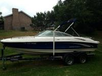 21ft Ski Boat for lease $50.00 per hour plus gas, with