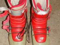 CALL DEBRA @  SKI BOOTS...HARDLY USED... READY FOR A