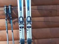 SKIS, BINDINGS, BOOTS & POLES PACKAGE FOR ONLY $105