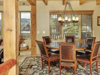 This stunning 3 bedroom plus loft, 5 bathroom Alpine