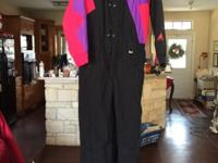 Men's Ski Suit manufacture Ski Wear. Size large only