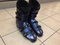 Ski Boots (size 11.5). Good condition. Some scratches