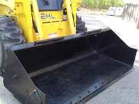 This skidloader bucket is in excellent condition with a