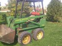 John deere 70 skid steer loader. No leaks, strong