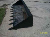 "90"" Tooth Bucket Pin on Teeth Skid Loader"