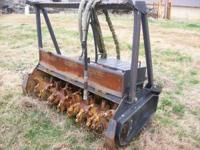 "Bradco Magnum Mulcher Model MM60. 72"" wide 60"" cut,"
