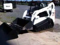 06' BOBCAT T-190...1950 HRS....TRACKS 95%...2 BUCKET