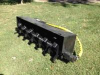 Selling a brand new never used tiller for bobcat. About