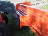 New never used 3' x 10' Snowblade. Will mount to Skid