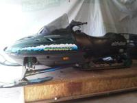 I have an almost new looking 1996 Skido 500cc Rotax