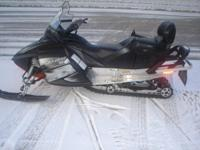 2008 Skidoo GTX 500SS 2-up snowmobile 597cc liquid