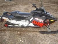 2008 Skidoo Summit 550F To view video of sled go to