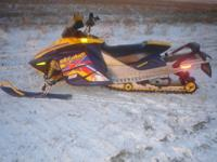 2005 Skidoo Summit X 800 To view a video of sled go to