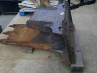 Concrete/asphalt spade bucket for Skid Steer. New.