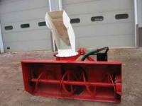 This snowblower is a Loftness - made in Hector, MN. The